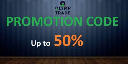 Kod Promosi Olymp Trade - Bonus Hingga 50%