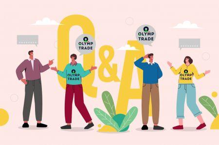 Soalan Lazim (Soalan Lazim) Akaun, Platform Dagangan di Olymp Trade