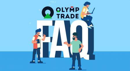 Soalan Lazim (FAQ) Pengesahan, Deposit dan Pengeluaran di Olymp Trade