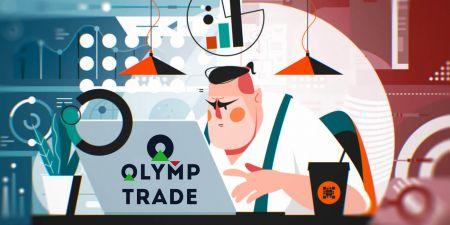 Cara Membuka Akaun Perdagangan dan Mendaftar di Olymp Trade