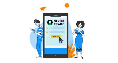 Cara Membuat Akaun dan Mendaftar dengan Olymp Trade