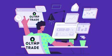 Cara Masuk dan mula Berdagang di Olymp Trade