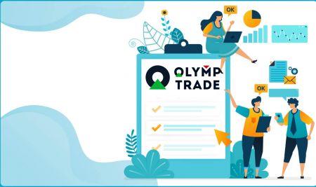 Cara Masuk dan Sahkan Akaun di Olymp Trade