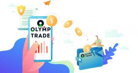 Cara Log masuk dan Pengeluaran Wang dari Olymp Trade