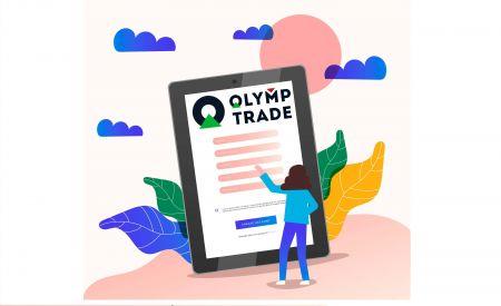 Cara Membuka Akaun Perdagangan di Olymp Trade