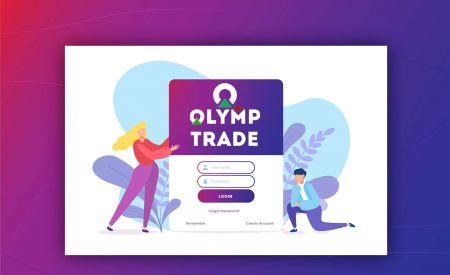 Cara Membuka Akaun dan Log masuk ke Olymp Trade